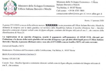 (Italiano) Registrazione marchio: attenti alle truffe